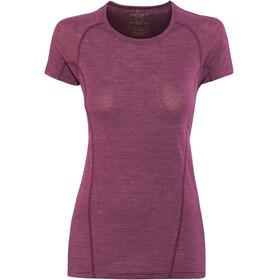 Devold Running - Camiseta manga corta Mujer - rosa
